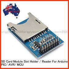 SD Card Module Slot Socker Reader For Arduino/PIC/AVR/MCU - Brand New Sealed PK