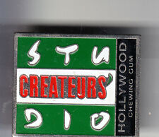 RARE PINS PIN'S .. CINEMA FILM MOVIE STUDIO CREATEUR HOLLYWOOD CHEWIN GUM ~BT