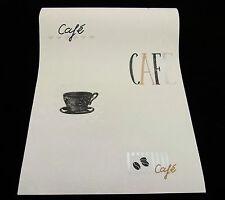 18112-10) 1 Rolle hochwertige und edle Design Schaum Tapete CAFE