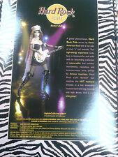 vintage Hard Rock Cafe 2004 HRC #2 Barbie Doll Rockstar Guitar Tattoo   GIFT New