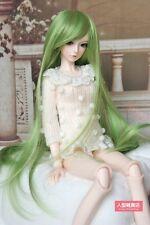 BJD Doll Hair Wig 9-10 inch 22-24cm green 1/3 SD DZ DOD LUTS E62