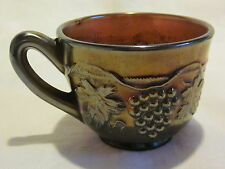 Carnival Glass Northwood Grape & Cable Amethyst Cup