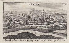 Slovakia Kosice Original Copperplate Sandrart 1684