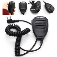 Handheld Pofung BAOFENG UV-5R V2+ BF-F8+ WP970 Speaker Mic Walkie Talkie Radio K