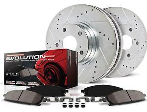 Powerstop K690 Frt Z23 Evolution Sport Pad/Rotors for 96-14 Honda Insight/Civic