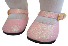 "For 15"" American Girl BITTY BABY Doll Clothes Pink Glitter Shoes Accessories"