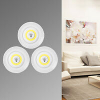 3 PCS Wireless Remote Control Battery Operated Under Cabinet SMD LED Light