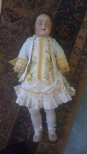 "Antique Heinrich Handwerck, Simonn&Halbig  German porcelain doll 24"""