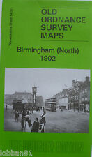 Old Ordnance Survey Map Birmingham North  1902  Sheet 14.01 Brand New Map