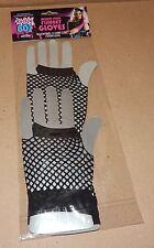Halloween Adult Rockin 80's Accessory Mixed Pair Fishnet Gloves Short/Long 117I