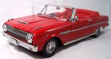 1/18 Scale SunStar 1963 Ford Falcon Futura Sprint V8 Convertible Rangoon Red