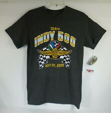 104TH Indy 500 Indianapolis Motor Speedway May 24, 2020 Gray T-Shirt New