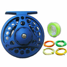 Large Arbor Alum Die Casting Fly Reels & Weight Forward Floating Fly Line Combo