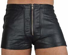 aw-533 Ledershorts,Leder Shorts,Gay Hosen,kurze lederhos leather pant