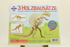 Pebaro 856 Holzbausatz Dino-Set NEU und OVP