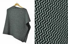 Womens Ladies Light Stone Super Soft 100% Luxury Cashmere Shoulder Poncho/Cape