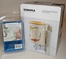 Set Outlet HAPPINESS IS HOMEMADE WAX WARMER & 6 FRAGRANCE CUBES New in Box