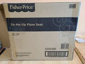 NEW IN BOX Fisher-Price Sit-Me-Up Floor Seat - Gray