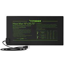 "Seedling Heat Mat Seed Starter Germination Clone Hydroponic Warm Pad 10"" x20.75"""