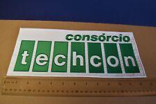 """Formula 1 - Original Large """"Techcon - Consorcio"""" Patch New NOS Rare!"""