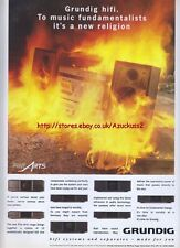 Grundig Hifi 1994 Magazine Advert #1500