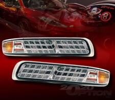 FOR 99-02 SILVERADO 00-06 SUBURBAN TAHOE LED LOOK CORNER SIGNAL LAMP LIGHTS