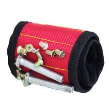 1Pc Magnetic Wristband Belt Screw Scissor Holder Tool Storage Drill Bracelet