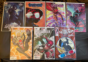 Awesome Spiderman Variant and Key Issue Set ! 1st Starling ! Granov ! 3-D Venom!