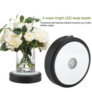 3D LED Unique Colorful Light Base Display Lamp Stand Holder for Home Decor Hot