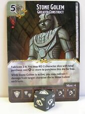 Dice Masters - 1x #082 Stone Golem Greater Construct Foil - D&D Tomb of Annihila