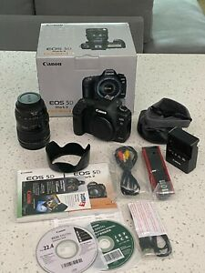 Canon EOS 5D Mark II Digital Camera Body with 24-105mm f/4L Lens UGLY but works
