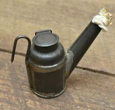 New listing L289- Antique Sunshine Coal Mining Wick Lantern C George Hazelton Pa