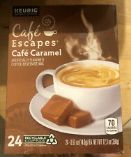 Cafe Escapes Cafe Caramel Keurig K-Cups 24 Count - FREE SHIPPING