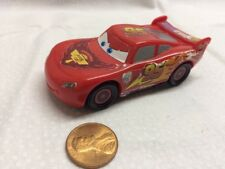 Disney Pixar CARS Toy Retired Lightning McQueen Plastic Piston Cup