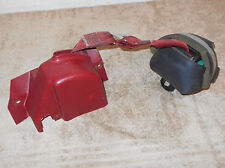 1990 1991 1992 1993 Mustang Lx Gt ORIG RED CONVERTIBLE LH FRONT SEAT BELT