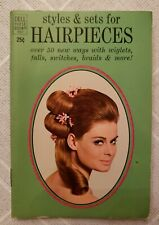Vintage Dell Purse Book 1968 Hair Styles and Set for Hairpieces, falls, wiglets