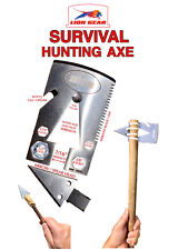 EDC 21 in 1 Survival Axe Tomahawk Multitool Card Backpacking TraveL