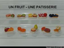SERIE COMPLETE DE FEVES  UN FRUIT - UNE PATISSERIE   2020