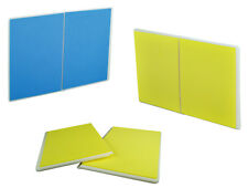 PROWIN Set of 2 Rebreakable Breaking Boards Martial Arts Karate TKD- Yellow/Blue
