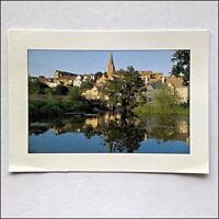 Malmesbury Wiltshire The Town and Abbey across River Avon 2007 Postcard (P432)