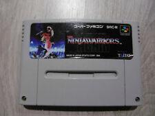 Ninja Warriors - Super Famicom - Japan SFC - SNES - Nintendo - TAITO - Genuine