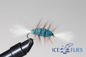 ICE FLIES. Bomber. Blue (3-pack) Pick a size. Fly Fishing Fly