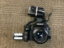 Sony A57 16.1MP Digital SLR Camera Body SLT-A57 With Minolta AF 50 Lens AS IS