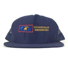 Guardian Kingsburg Industries Logo Mesh Trucker Hat Cap Snapback  Sm-Med Adult