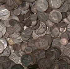 $10 FACE VALUE JUNK SILVER 90% BULLION COINAGE! INVESTMENT SILVER GREAT COLLECT