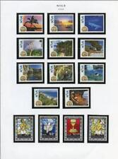 NIUE SELECTION OF 2009//214 MINT NEVER HINGED STAMPS & SOUVENIR SHEETS AS SHOWN