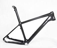 """19"""" BSA Carbon MTB Frame Mountain Bike ISP Seatpost 9mm QR 3k glossy matt 26er"""