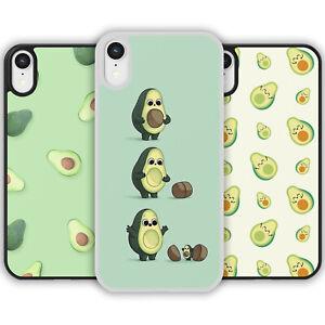 Cute Kawaii Avocado Pattern Phone Case Cover iPhone Samsung Galaxy Fruit Summer