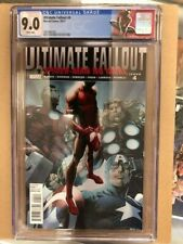 **ULTIMATE COMICS FALLOUT #4** First Appearance Miles Morales 1st print CGC 9.0