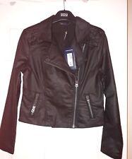 Marks & Spencer Collection Cotton Biker Jacket Size 8 BNWT